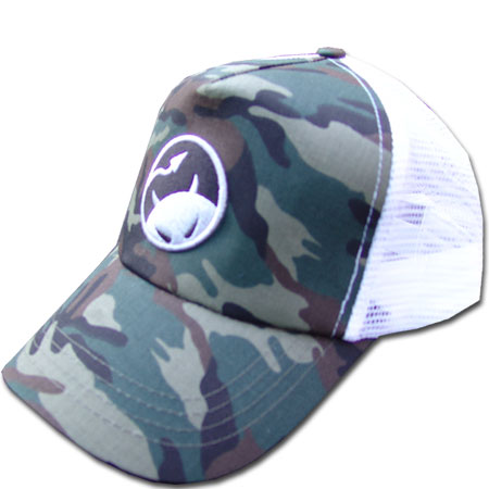 Daredevil Mesh Back Cap (Green Camo)