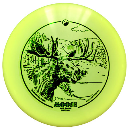 Daredevil Golf Disc - Moose - Flex Performance Mid-range Disc
