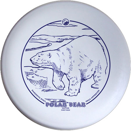 Daredevil Polar Bear - Grip Performance Putter