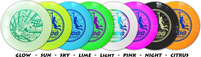 140 Gram Flying Discs