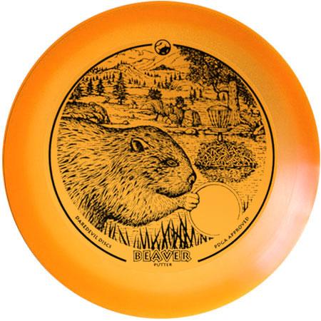 Daredevil Beaver - Orange Flex Performance Putter