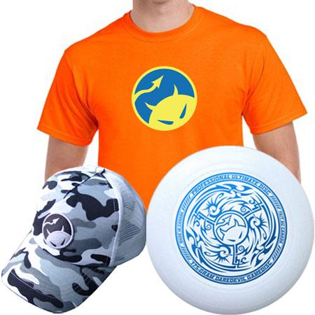 Daredevil Shirt, Gamedisc & Hat Combo