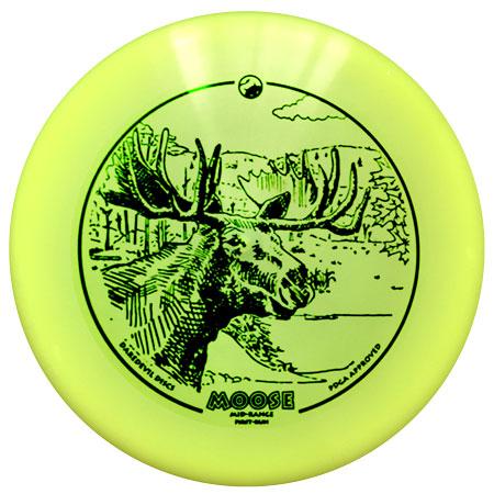 Daredevil Golf Disc - Moose - Flex Performance Mid-range Disc