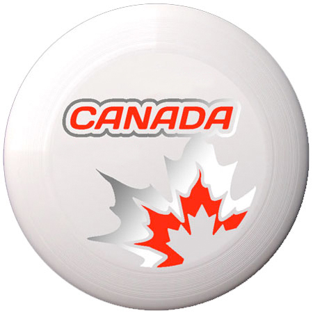 Canada Disc - Light with 2 colour print